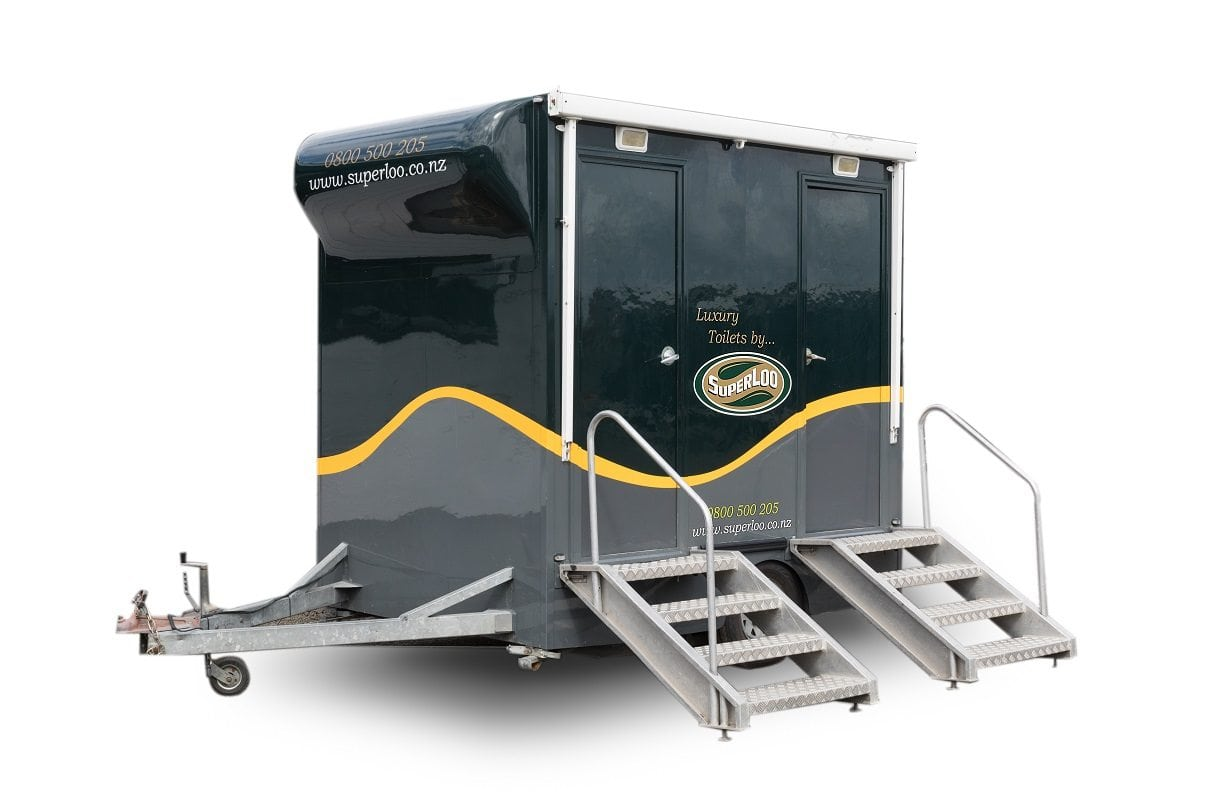 Princess - 2 Bay Trailer Unit Porta Potty